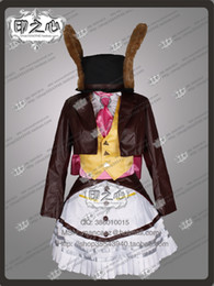 Wholesale customized movie Alice Madness Returns cosplay Lucky Rabbit Dress Cosplay Costume