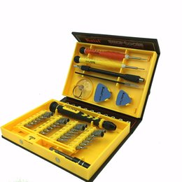 Wholesale Mini Magnetic Screwdriver Tool Set In Electron Torx Hand Tools Kit Opening Repair for PC laptop Iphone mobile phone watch