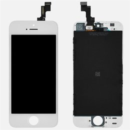 Grade A+ LCD Display Touch Digitizer Complete Screen with Frame Full Assembly Replacement for iPhone 5 5S 5C