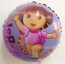 Wholesale New product Foil Balloon Cartoon Ballon Series Wedding Decoration Party Decoration Round Shape