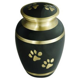 Wholesale Pet Funeral Urns for Dogs Ashes Cremation Urns for Cats Ashes Hand Made in Brass Attractive Display Burial Urn Pet Memorial Baby Urn