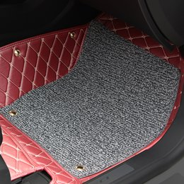 for Chevrolet Cruze 2015 2016 Car Floor Mats Car Special Floor Mat Black Beige Wine Red Brown