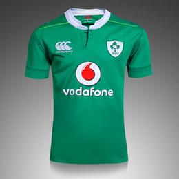 Wholesale _ Ireland rugby jerseys away black Top AAA quality football jerseys rugby wear sports jerseys