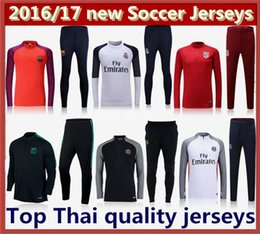 Wholesale Mixed Order new Football shirts Atletico Madrid BARCELONAIZERS best quality psg mens coat Real Madrid Soccer Training suit jersey