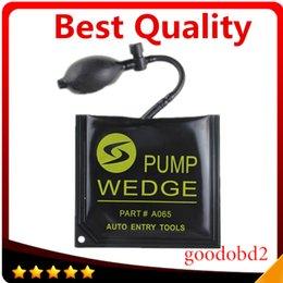 Wholesale Best Black KLOM PUMP WEDGE LOCKSMITH TOOLS Auto Air Wedge Lock Pick Open Car Door Lock Medium Size CM Windows door tool