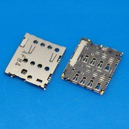 Wholesale Original New For ASUS ZenFone5 A500CG A501CG A500KL Sim Card Reader Connector Socket Slot Repair Replacement Parts