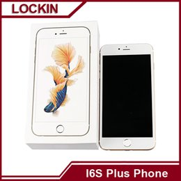 Wholesale 3g Android phone I6s Plus Dual core ip6s plus G RAM smart phone High quality Ghz Real Fingerprint Touch Front Camera apple6 plus VS S6