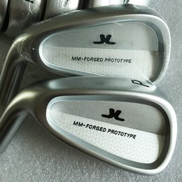 Hot sale New mens Left handed Golf Heads MM-FORGED PROTOTYPE Golf Irons Heads 3-9P Irons clubs heads Free shipping