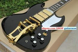 Wholesale Custom Shop Electric Guitar Black sg With tremolo Electric Guitar China guitar New Style