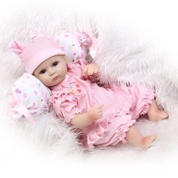 Wholesale So Truly Real Lifelike Preemie Girl Doll Reborn Newborn Baby Inch Kids Pretend Mommy Toy Gifts