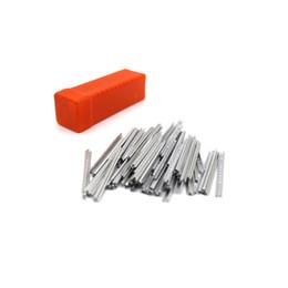 Wholesale 100pcs Aluminum Foil Lock Locksmith Pick Picks Picking Tool Kit Set factory direct