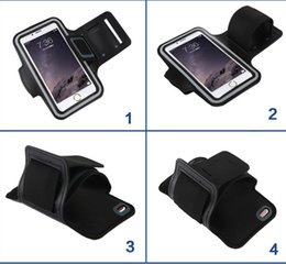 Wholesale Portable Sports iPhone Samsung Cellphone Case Water proof Cellphone Case with Stable Armband able to Mount Tiny Gadget for Samsung S7 Edge
