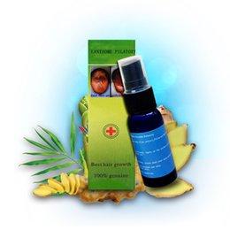 Wholesale 30ml andrea hair growth liquid ginger shampoo anti hair loss products for women men best fast hair growth spray genuine