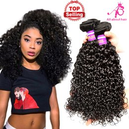 Wholesale Brazilian afro kinky curly hair extensions A unprocessed curly Peruvian hair bundles human hair weave bundles curly hair