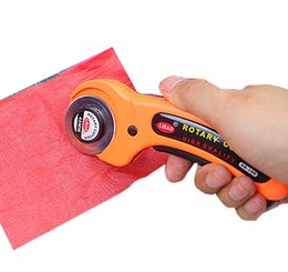 Wholesale 100PCS Rotary Cutter Fabric Cutting Tool Knife Quilters Crafts Sewing Quilting Blade Easy Tungsten Steel Blade Wear resisting durable