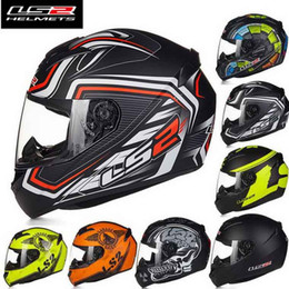 Wholesale 2016 New LS2 FF352 OFF Road Full Face Motorcycle helmet ABS cross country motorbike helmets kinds of colors SIZE L XL XXL