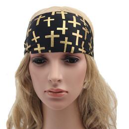 Women wide headband,Running Headband Womens Hair accessory ,Cross Printed Strechy Headband,Yogo headband Boho Headband