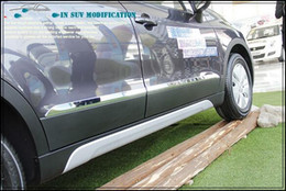Free shipping! High quality 4pcs side door trim side door streamer side door protection bar for Suzuki S-cross 2014