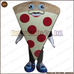 Costume de mascotte de commande en Ligne-Costume de mascotte de pizza l'expédition libre, adulte bon marché de bande dessinée de mascotte de pizza de peluche de haute qualité, accepte l'ordre d'OEM.