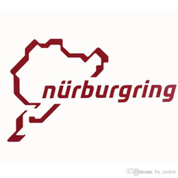 Car sticker Nurburgring baby in car body stic For be current Car