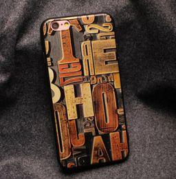Nouveau Creactive iPhone 6s / 6/7 / 7plus Strang Exotique 3D Vintage Sculpture Designer Sculpté Cellulaire peint Cas Protecteurs Shell TPU Soft à partir de téléphones cellulaires concepteur fabricateur