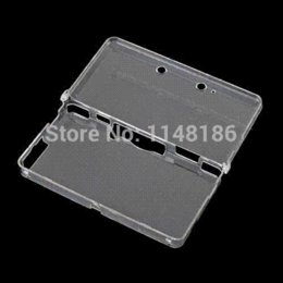 Crystal case 3ds en Ligne-Pour Crystal Case 3DS Console de protection pour Nintendo 3DS Console Shell Cristal Clear Cover Case,