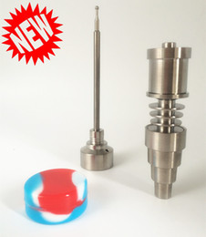 Wholesale Factory Directly Sell E Dab Nail in Domeless Titanium enail fit mm mm Heater Coil Price for Sale