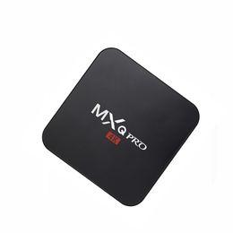 Wholesale MX Q Pro Android TV Box Amlogic S905 Quad Core Android DDR3 G Nand Flash G HDMI WIFI K i p meglio di mxq mxv