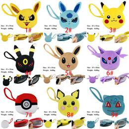 Compra Online Bolsas de bolsillos-2016 del empuje monstruos de bolsillo de la moneda del monedero de la felpa de los niños Pikachu linda del monedero de la cartera llaveros bolsas móviles para niños Accesorios XL-P105