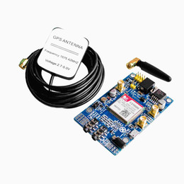 Wholesale SIM808 instead of SIM908 module GSM GPRS GPS Development Board IPX SMA with GPS Antenna for Arduino Raspberry Pi