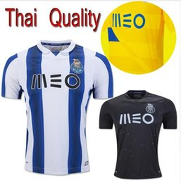 Wholesale DHL Mixed buy FC Porto jersey Best Quality soccer shirts blue white yellow black TELLO camiseta de foot fC custom shirt free
