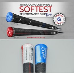 Wholesale 1 Midsize Golf Pride CP2 PRO Grips For Golf Driver Grips Golf Clubs Golf Rubbers Blue Red Colors New