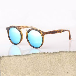 Wholesale 2016 Newest Hot Designer Brand Sunglasses Round Gatsby Men Sun Glasses Women Outdoor Retro Sunglass Gafas de sol mm unisex with case