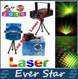 Wholesale Mini Voice Projection automatique Projecteurs Projecteurs Disco DJ Stage Party Xmas Show Club Star Bar Trépied UE AU US UK Plug