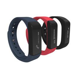 Moniteur de sommeil podomètre à vendre-IWOWN i5 Plus Bracelet à bracelet élégant à balai anti-éblouillant Bluetooth Moniteur de sommeil Pédaleur à condition physique pour téléphone portable