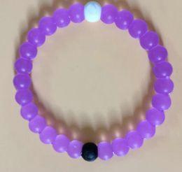 Wholesale Find your Balance Lokais Colors Brand Bracelets The Newest Rainbow Shark Designer Quality silicone Original Tag Bangle