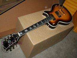 High Quality Newest Flame top back Electric Guitar Ebony fingerboard Mahogany Wholesale Guitars Free ShippingA 123