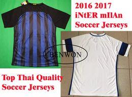 Wholesale Benwon Interr Milan Soccer Jerseys Maillot de foot men s short sleeve football t shirts athletic outdoor soccer wear sports jerseys