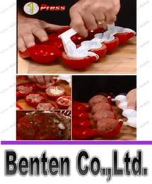 Promotion outils gratuits d'expédition Livraison gratuite Stuffed bal Maker Newbie Meatballs poisson Boule Meatball Outil de prise LLFA8930