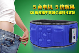 Wholesale best quality vibration massage belt with motors for lose weight and heating function hot selling slimming belt