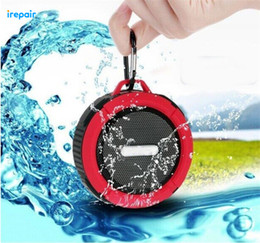 Wholesale DHL High Quality New Waterproof Dustproof Shockproof Portable Speaker Comprehensive Protection Bluetooth Wireless Active Audio C6 universal