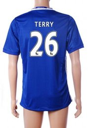 Wholesale Cheap discount TERRY Thai Quality soccer jerseys CAHILL WILLIAN Football Shirts Jersey shirt DIEGO COSTA HAZARD soccer wear