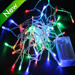 Wholesale 3M 30LED Led Christmas Light RGB cool White Led String Light Battery Powered For Christmas Wedding Xmas Garland Party