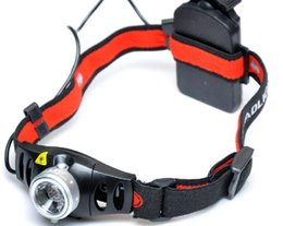 Wholesale Super Bright lm CREE Q5 LED Headlamps Headlight Zoomable flashlight head light Lumen Outdoor Hunting Fishing Lamp