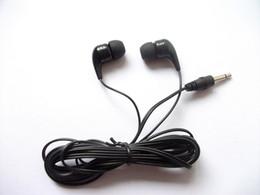 Bulk Quantity Disposable Earbuds Headphones for Gyms School 1000pcs lot