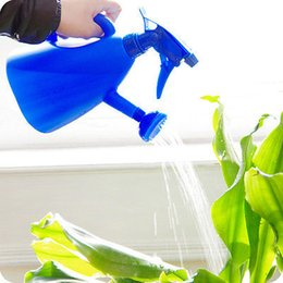 Wholesale Litre Plastic Indoor Outdoor Garden Plants Watering Can Kettle Irrigating Sprayer