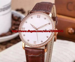 New fashion classic retro trend of imported luxury business noble automatic calendar Mens watch waterproof diamond belt