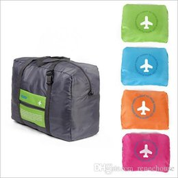 Wholesale Blue Waterproof Nylon Storage Bag Foldaway Luggage Inexpensive and lightweight dry bag For Travel Campimg Sports