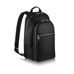 Wholesale Fashion Preppy Style Backpack N41330 brand backpack genuine leather Satchels backpack quality