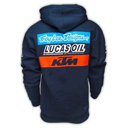 Wholesale ktm automobile race clothing outerwear motorcycle cotton casual sweatshirt Word picture may be a little different
